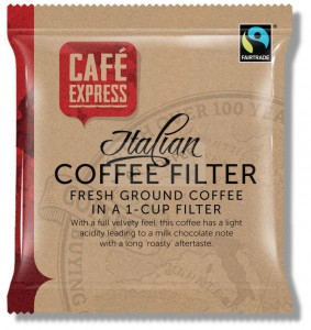 Cafe Express Fairtrade One Cup Filter Coffee Bags x 50